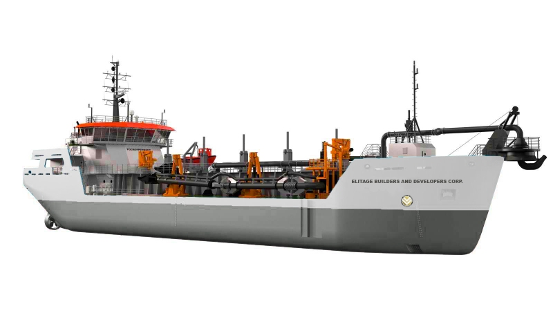 Suction Hopper Dredger
