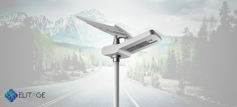 Elitage Integrated Solar Street Light